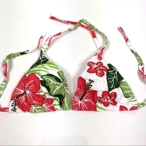e27fe05764 Cia. Maritima Swim | Nwot Cia Maritima Slide Triangle Bikini Top ...